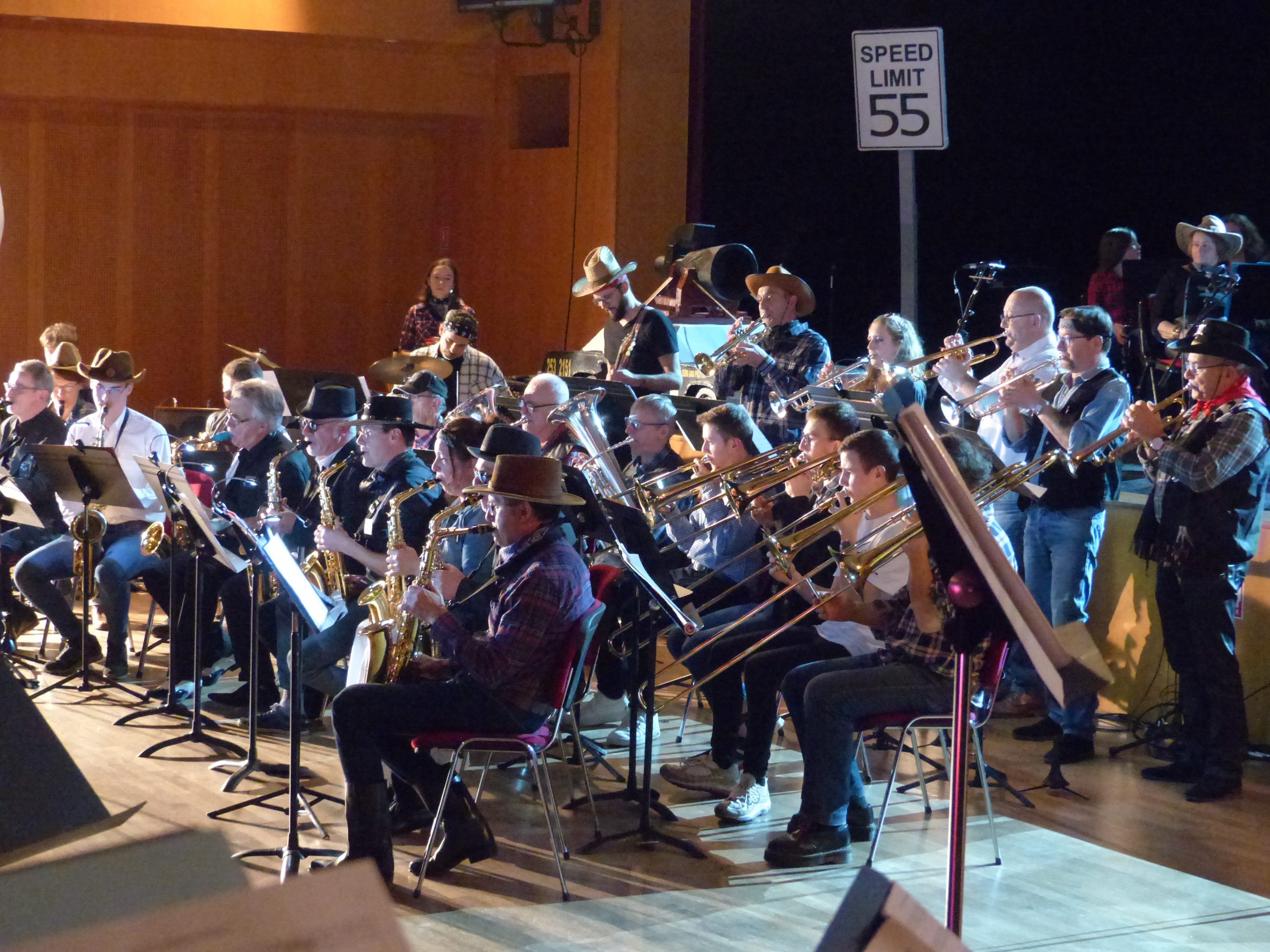 Big Band Saint Berthevin en concert